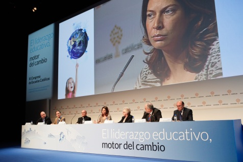 Lucía Figar en la Inauguración del XI Congreso de EC